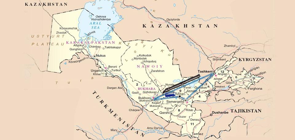 Fam Trip in Uzzbekistan